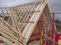 45 degree gable pitch roof